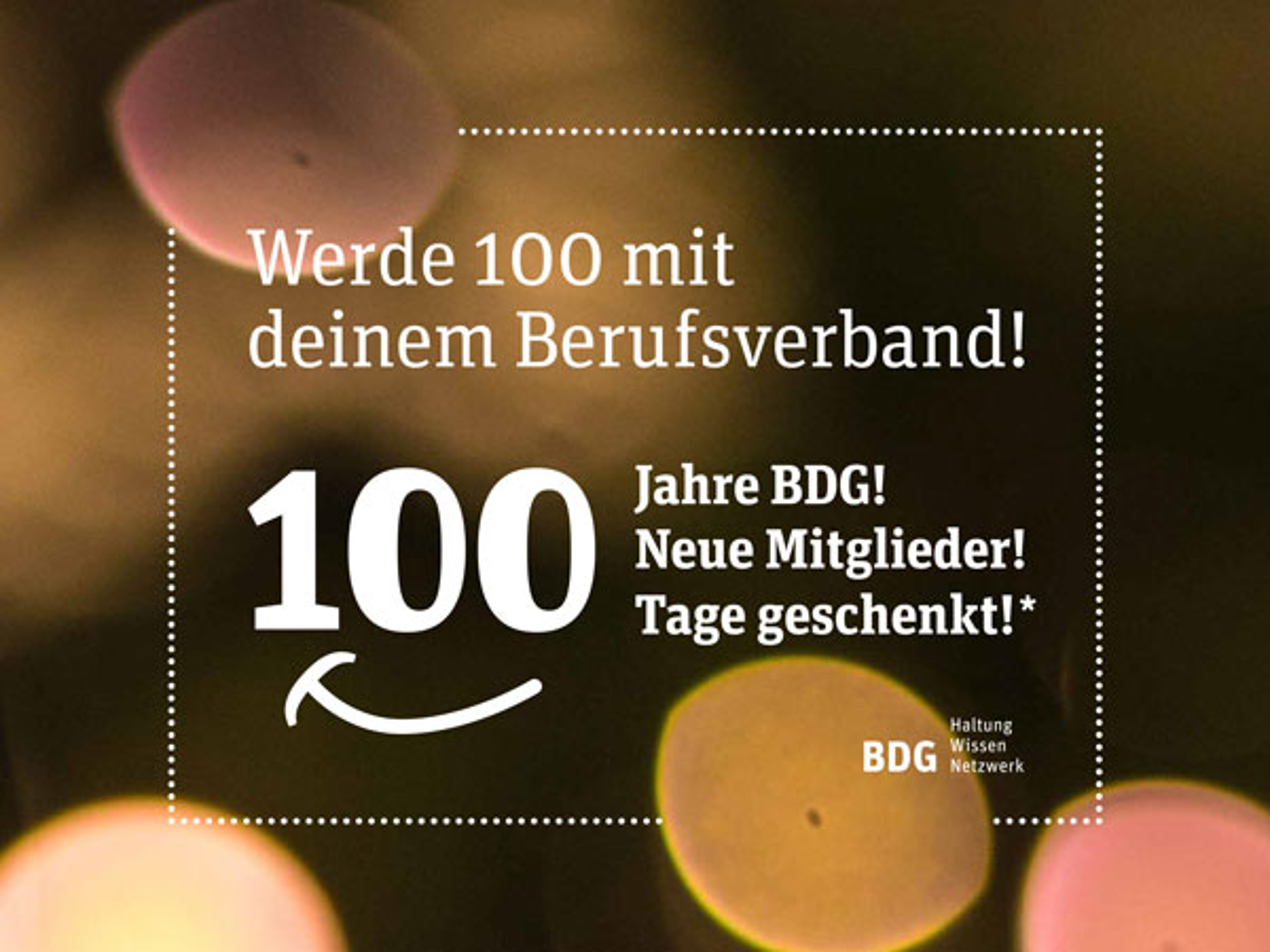 100 Jahre BDG